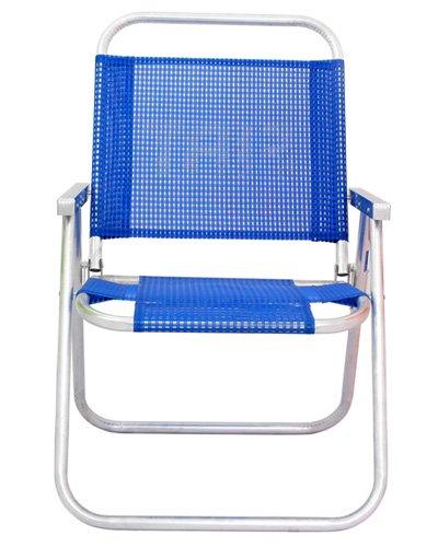 Brindes Personalizados - Cadeira de Praia Aluminio Reforçada