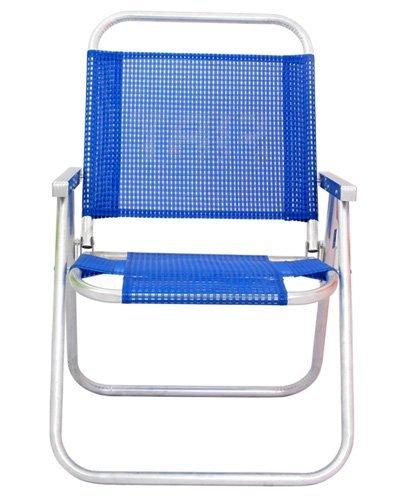 Brindes Personalizados - Cadeira de praia Alumínio