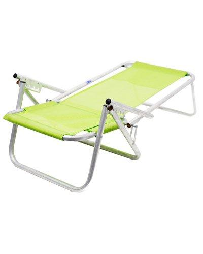 Brindes Personalizados - Cadeira de Praia de Aluminio 4 Posições