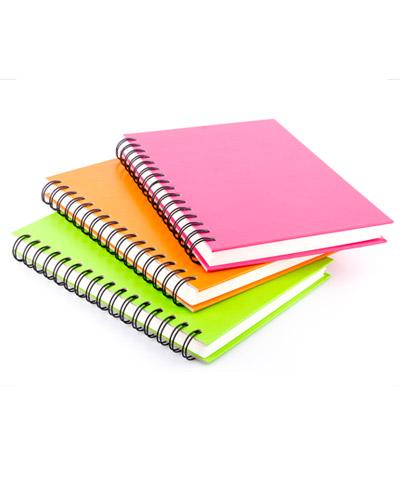 Brindes Personalizados - Caderno Escolar Personalizado
