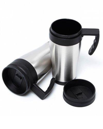 Brindes - Caneca Térmica de Alumínio Personalizada