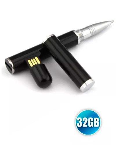 Brindes Personalizados - Caneta Pen drive 32gb Personalizada