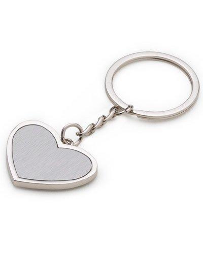 Brindes Personalizados - Chaveirinhos Personalizados em Formato de Coração