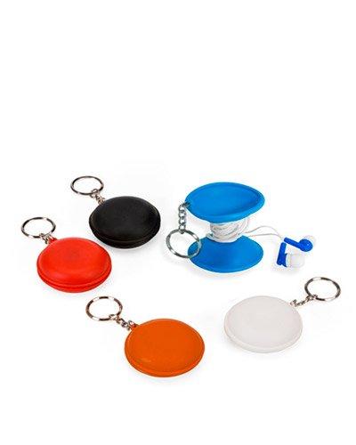 Brindes Personalizados - Chaveiro com Fone de Ouvido Personalizado