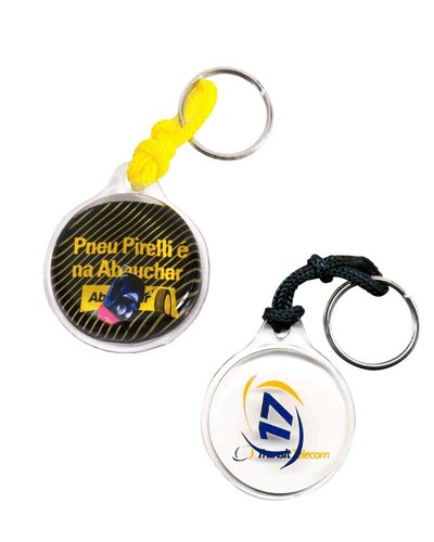 Brindes Personalizados - Chaveiro em Gel Personalizado