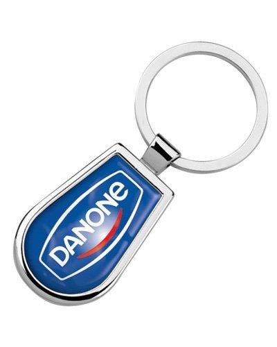 Brindes Personalizados - Chaveiro Promocional de Metal com Resina