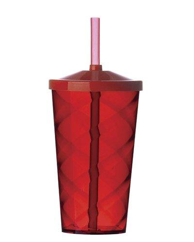 Brindes Personalizados - Copo com Canudo de Acrilico para Festa