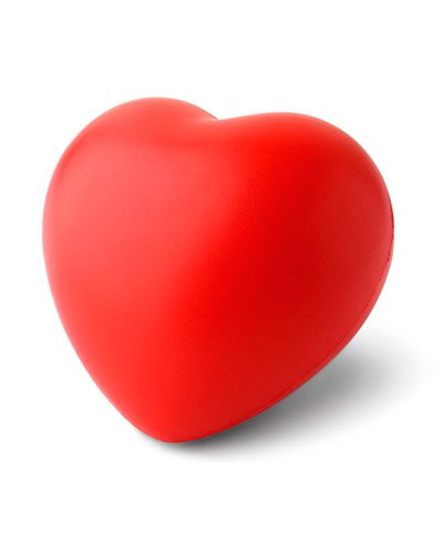 Brindes Personalizados - Coração Anti-stress Personalizado
