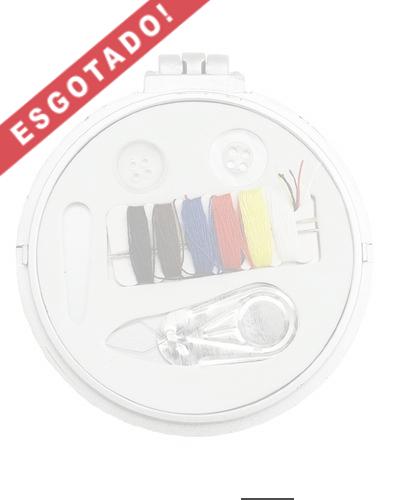 Brindes Personalizados - Espelho de bolsa com Kit Costura para Brinde