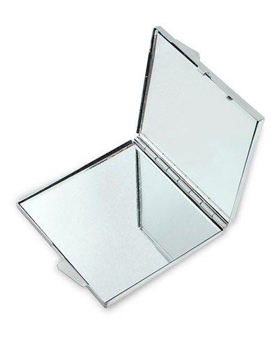 Brindes Personalizados - Espelho Quadrado Personalizado para Brindes
