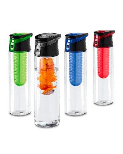 Brindes Personalizados - Garrafa Squeeze com Infusor Personalizada