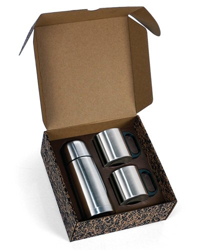 Brindes Personalizados - Garrafa Térmica Personalizada de Inox