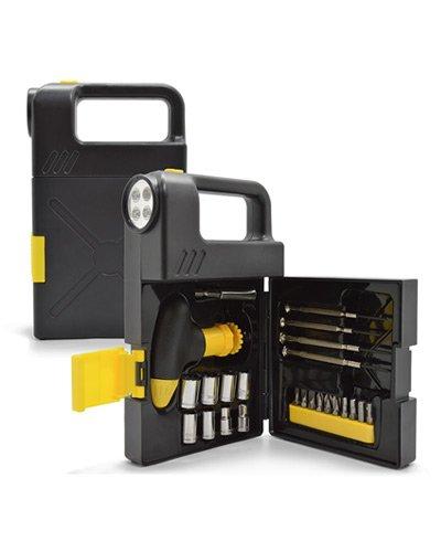 Brindes Personalizados - Kit de Ferramentas com Lanterna Promocional