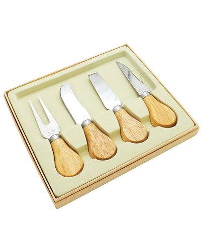 Brindes Personalizados - Kit para Queijo com 4 peças Personalizadas