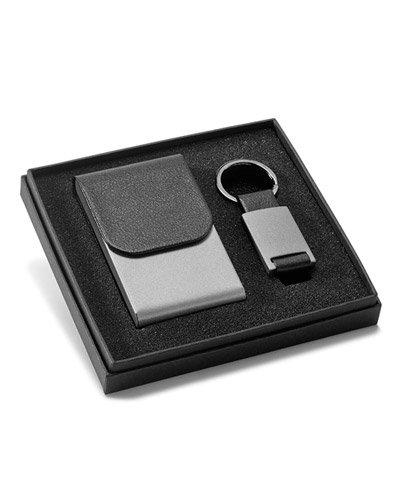 Brindes Personalizados - Kit Porta Cartão com Chaveiro