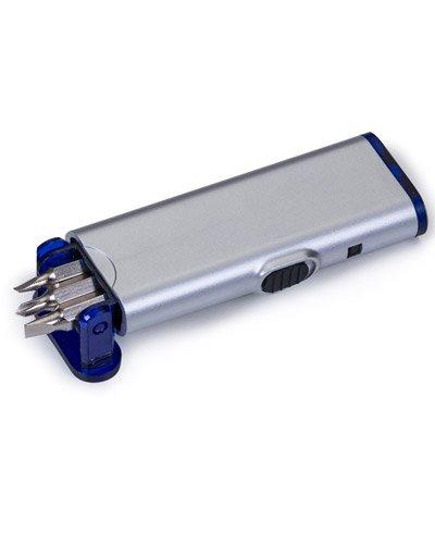 Brindes Personalizados - Lanterna com Jogo de Ferramentas Personalizado