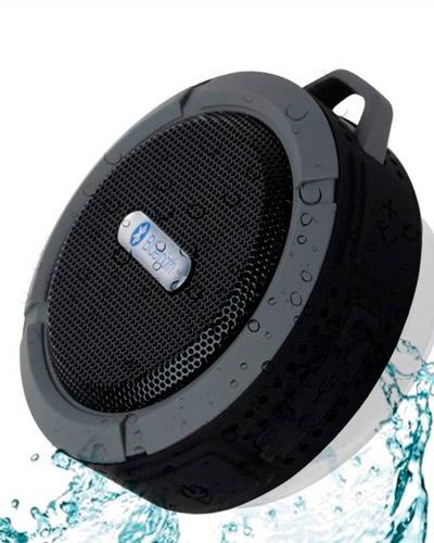 Brindes Personalizados - Mini caixa de som resistente a água para Brindes