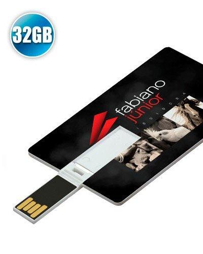 Brindes Personalizados - Pen card 32 Gb Personalizado