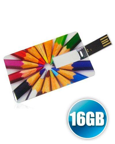 Brindes Personalizados - Pen card Personalizado 16gb