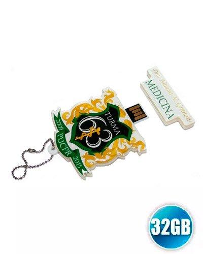 Brindes Personalizados - Pen drive 32gb Customizado