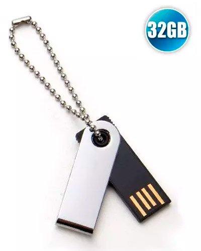 Brindes Personalizados - Pen drive 32GB Promocional