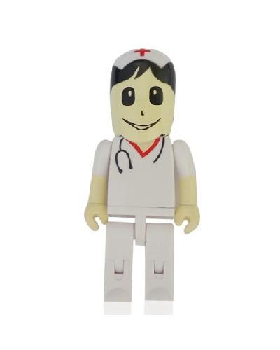 Brindes Personalizados - Pen drive 4 GB Promocional Enfermeiro