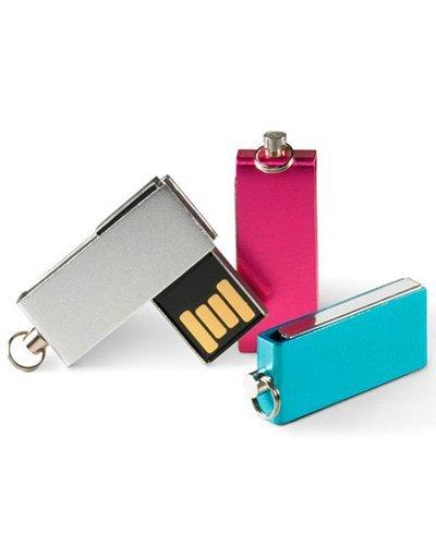 Brindes Personalizados - Pen drive 4GB Giratório MSM