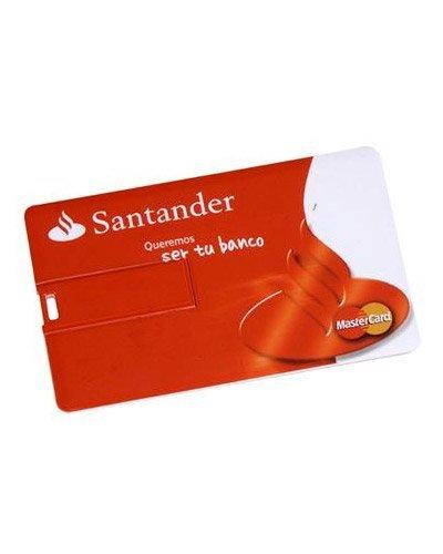 Brindes - Pen drive Cartão Personalizado 4GB