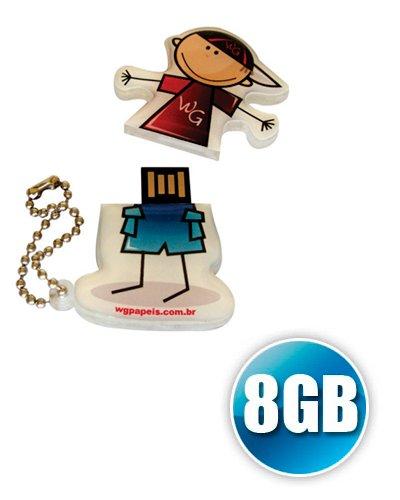 Brindes Personalizados - Pen drive Customizado 8GB