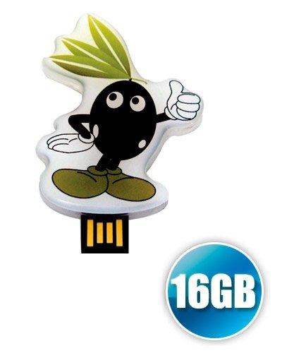 Brindes Personalizados - Pen drive Estilizado 16 Gb