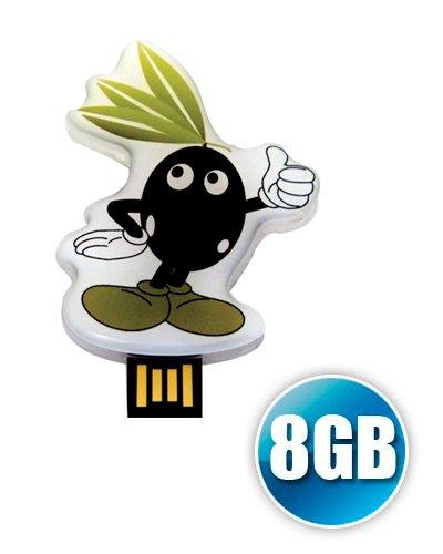 Brindes Personalizados - Pen drive Estilizado 8GB