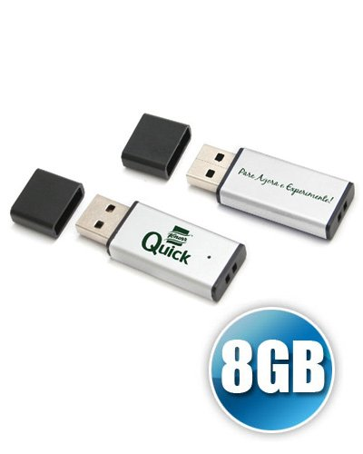 Brindes Personalizados - Pen drive para Brinde 8GB