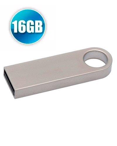 Brindes Personalizados - Pen Drive Personalizado 16GB Metálico