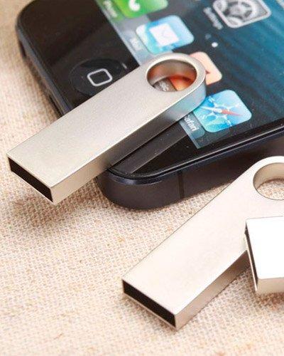 Brindes Personalizados - Pen Drive Personalizado Metálico