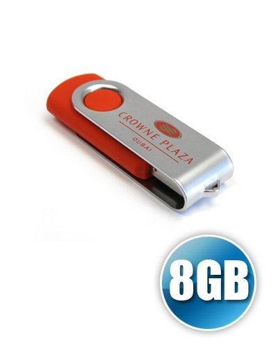 Brindes Personalizados - Pen Drive SM Personalizado de 8GB