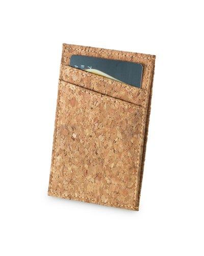 Brindes Personalizados - Porta Cartão de Crédito em Cortiça Personalizado