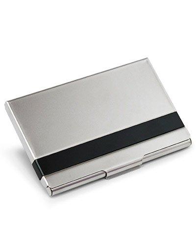 Brindes Personalizados - Porta Cartão de Visita Aluminio para Brindes