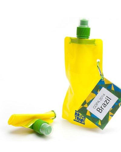 Brindes Personalizados - Squeeze Brasil Dobrável