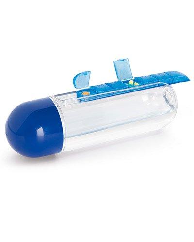 Brindes Personalizados - Squeeze com Porta Comprimidos Personalizado