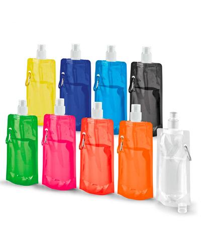 Brindes Personalizados - Squeeze Dobrável 480 ml