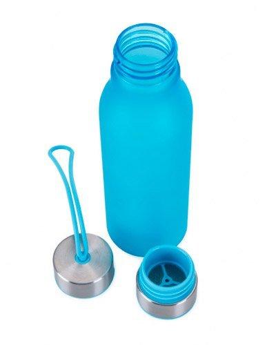 Brindes Personalizados - Squeeze Plástico com Detalhes em Metal