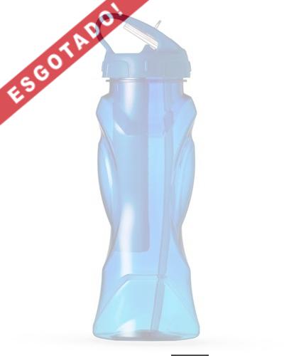 Brindes Personalizados - Squeeze Plástico com Tubo de Gelo