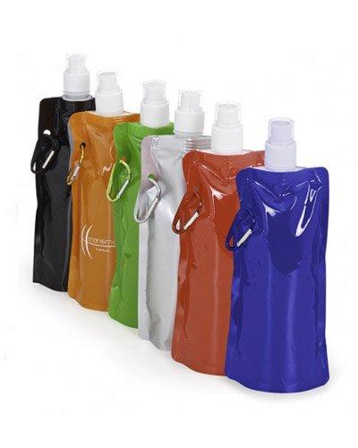 Brindes Personalizados - Squeeze Plástico Dobrável
