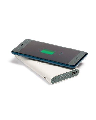 Brindes Personalizados - Wireless Power Bank Personalizado